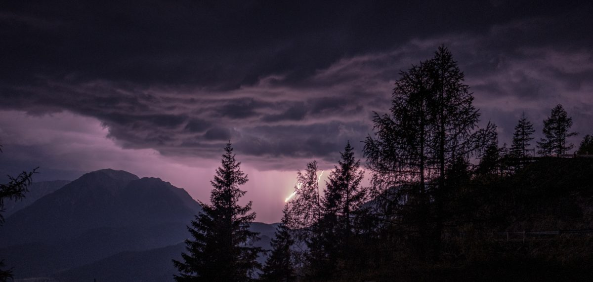 Thunderstorm on the Loser Alm